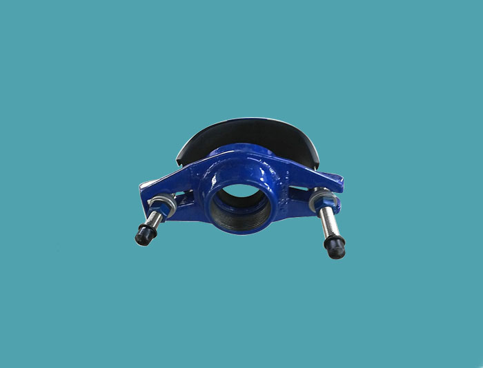 Universal Saddle with Thread Outlet
