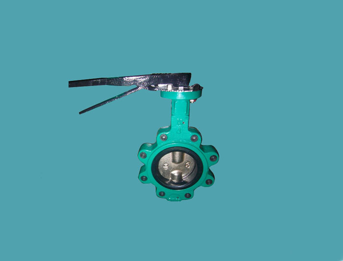 Two Shaft LT Type butterfly Valve